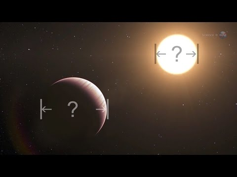 ScienceCasts: Sizing up an Exoplanet