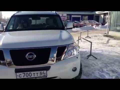 тест драйв реальный 2 Nissan patrol y62 real review 2