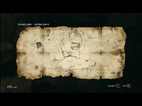 Assassin´s Creed 4 - Treasure Map - 479. 487 Smuggler´s Den