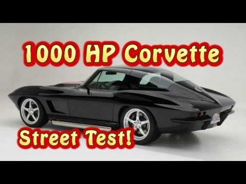 1000 HP Corvette Stingray Street Test from Nelson Racing Engines.  NRE.