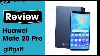 Exclusive: Huawei Mate 20 Pro | Phone Review | giffgaff