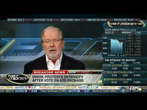 CNBC, 05/06/10, Euro will disappear in next few years, Dennis Gartman (Dow 10,520)