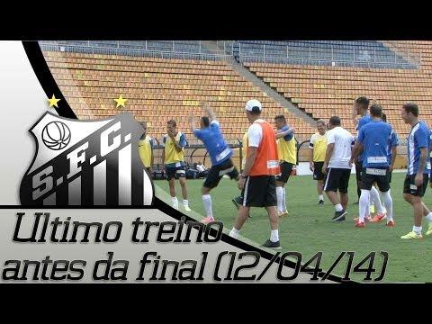 Ultimo treino antes da final (12/04/14)
