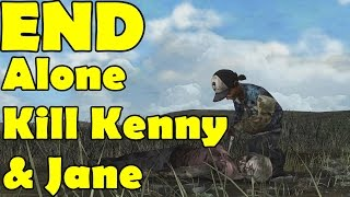 Alone Ending Kill Kenny & Jane The Walking Dead Season 2 Episode 5 No Going Back       2014 08 26 04