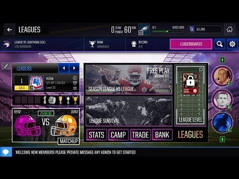UNREAL NEW LEAGUE HOME PAGE?! OVERDRIVE CUSTOM DESIGN! PRIVATE DM FEATURES in MADDEN MOBILE!