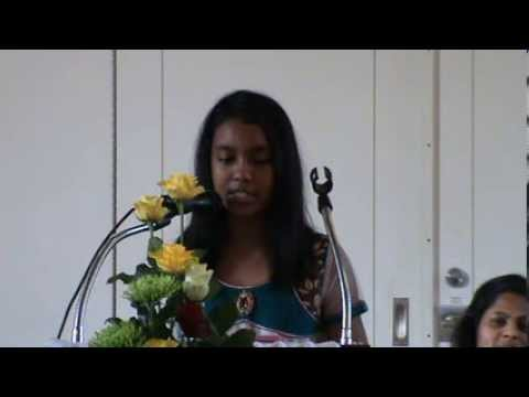 Hindi Christian Song- Yeh Dhara Aasma- Sung By Divya- Southern Asia SDA Church- Manchester