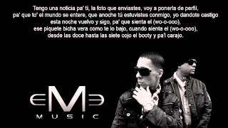 Me Niegas -  Baby Rasta Y Gringo -  Letra -  Prod. By Jumbo - Eme Music