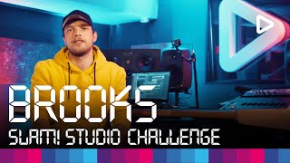 Brooks Creates A Track In 1 Hour Slam Studio Challenge
