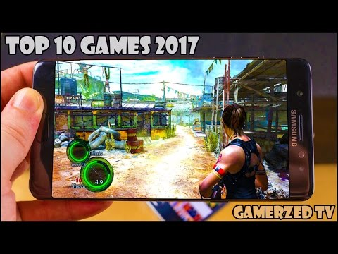 Top 10 Best New Android/iOS Games in 2017 || Gamerzed Tv