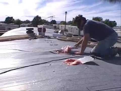 0 Insulating the Roof of a Mobile Home