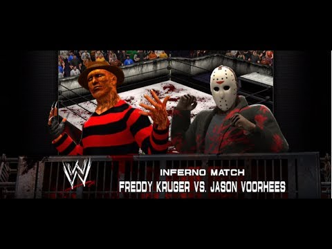 WWE 2K14 Freddy Kruger VS Jason Voorhees
