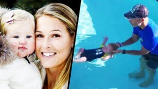Bode Miller's Son Learns to Float
