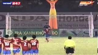 Penalty U23 Viet Nam - Sinh vien Han Quoc (4-3) ngay 1/11/2013