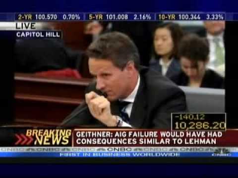 Congressman Kevin Brady grills Timothy Geithner Step down