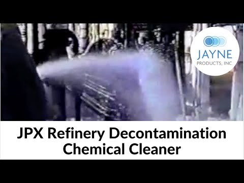 JPX Refinery Decontamination Chemical Cleaner