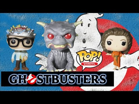 Ghostbusters Funko Pop Toy Collection 3 Pack Set Review