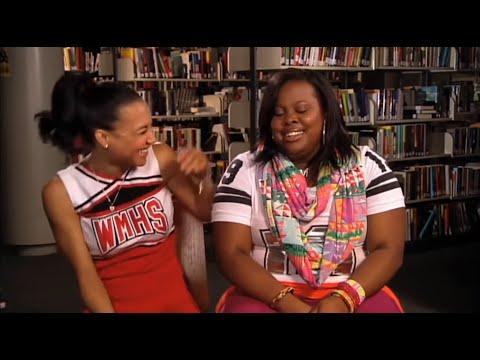 Lea, Amber, & Naya laughing