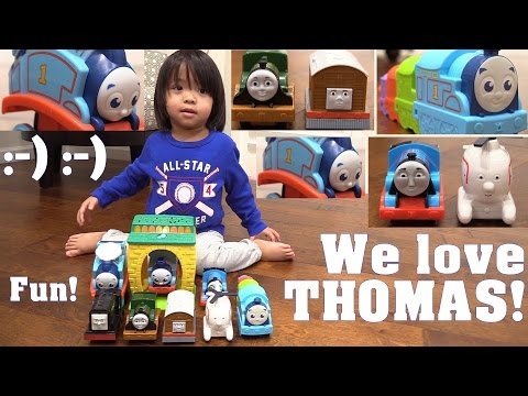 Thomas the Tank Engine! Fun Flip Thomas, My First Thomas & Friends, A Projector and more!