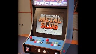 Custom build retro arcade cabinet powered by RetroPie
