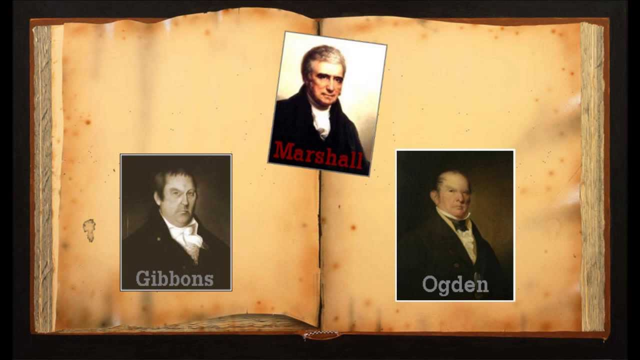 an essay on gibbons vs ogden Nationalism after the war of 1812 essay the last important case was gibbons vs ogden a custom essay sample on nationalism after the war of 1812.