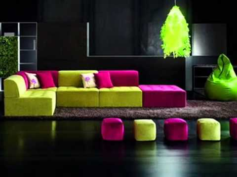 Salas modernas youtube for Decoracion moderna