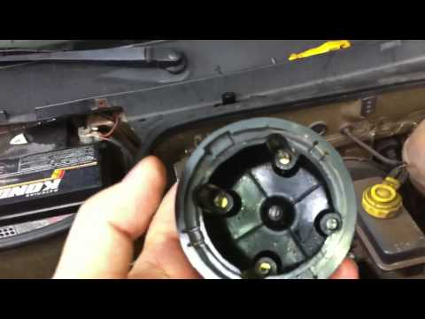 Dr CARRO Tampa Distribuidor Molhada - Motor não pega ou falha