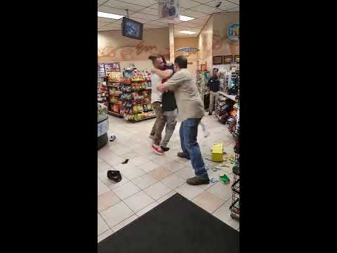 Altercation at Chevron in Long Beach - September 10th, 2015