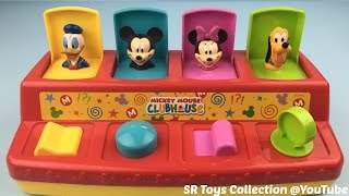 Mickey Mouse Clubhouse Pop Up Pals Toy Surprise Eggs Disney Frozen Minions Barbie Scooby Doo