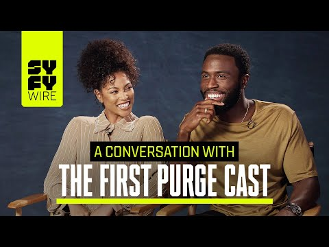 The First Purge Cast: The Horror Comes From The Reality | SYFY WIRE