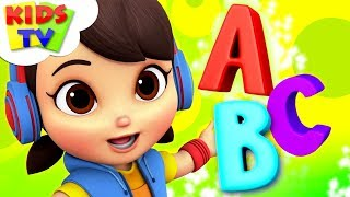 ABC Song | Boom Buddies Cartoons | + More Nursery Rhymes For Children - Kids Tv