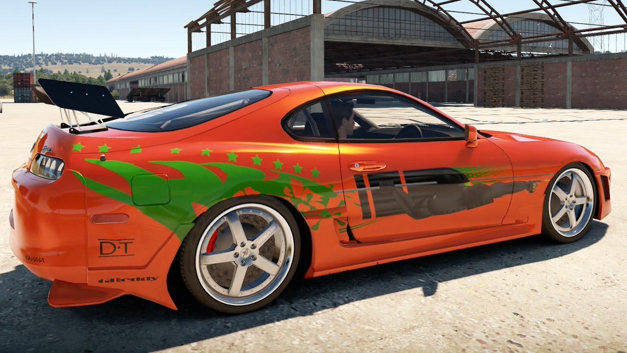 Forza Horizon 2 Fast & Furious Cars : BRIAN'S SUPRA - YouTube