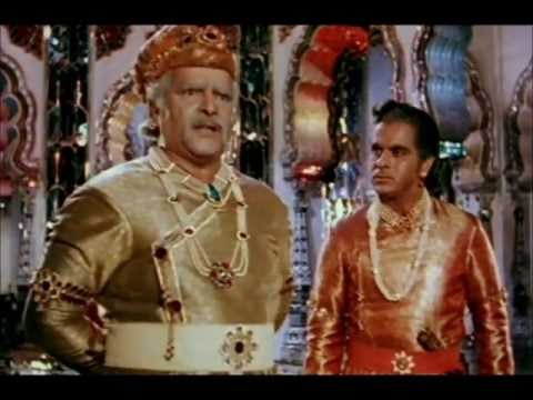 Best dialogue scene in bollywood - Mughal-E-Azam.