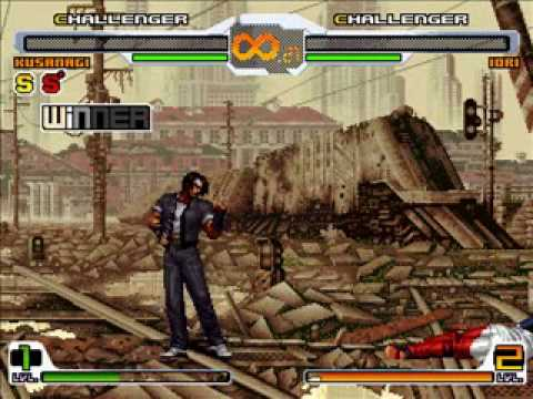 DF Battle #35-37 - Kusanagi(Me) vs. Kyo, Chizuru, and Iori