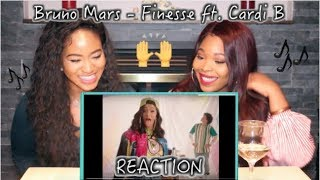Download Lagu Bruno Mars - Finesse (REMIX) ft  Cardi B (Official Music Video) | REACTION Gratis STAFABAND