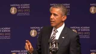 President Obama Stresses Importance of Science and Technology to the Nation