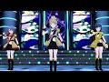ミリシタ MV『brave HARMONY』天空橋朋花、北上麗花、最上静香、高山紗代子、舞浜歩(ユニット & ソロ)Blue Moon Harmony ゲーム内楽曲