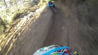 Amazing Dh Crash Pinilla Bikepark