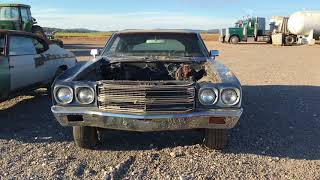1970 Chevelle SS 396 project for sale