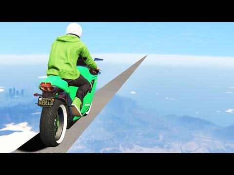 IMPOSSIBLE TIGHTROPE BATTLE! (GTA 5 Funny Moments)