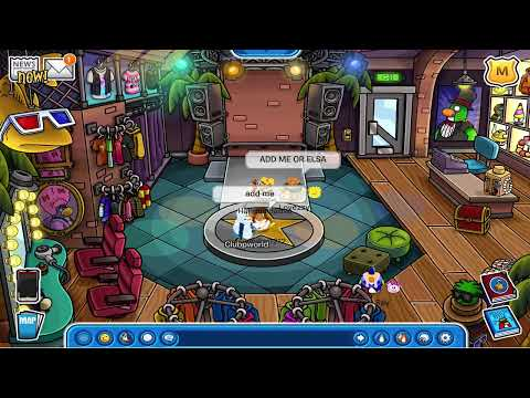 Club Penguin: August 2014 Frozen Clothing Catalog Cheats