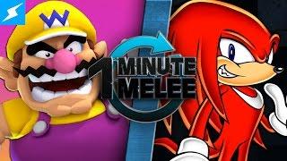 One Minute Melee - Wario Vs Knuckles (Mario Franchise vs Sonic Franchise)
