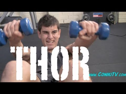 THOR LOWER BODY TEEN MUSCLE WORKOUT