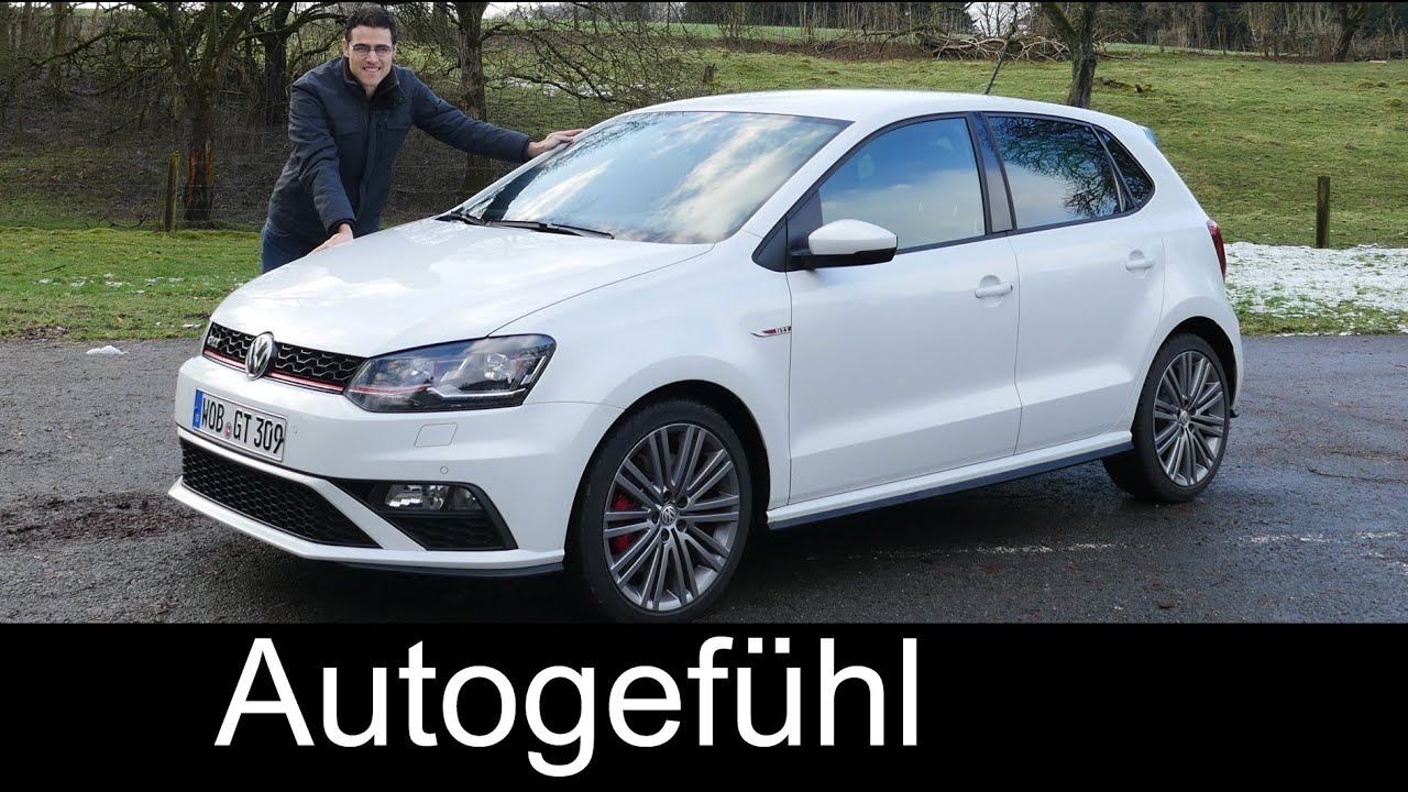 2015/2016 New Volkswagen Polo GTI Facelift test drive ...
