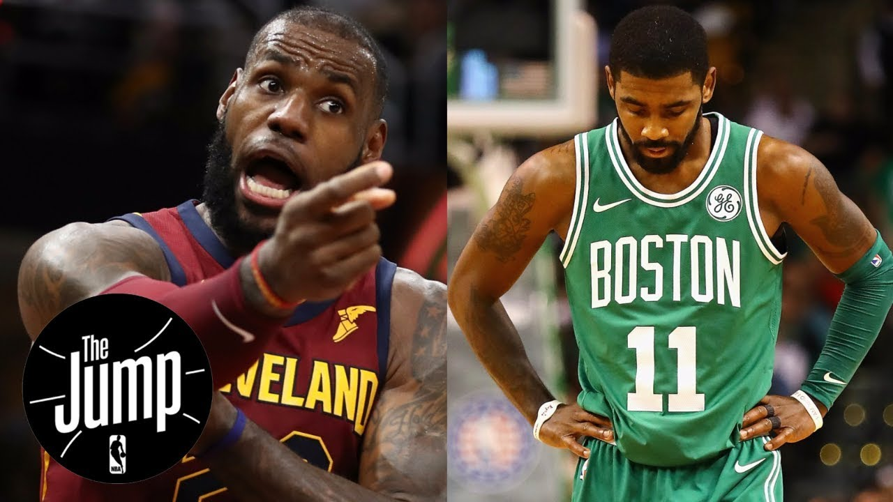 Were LeBron James' comments to Bleacher Report a shot at Kyrie Irving?   The Jump   ESPN