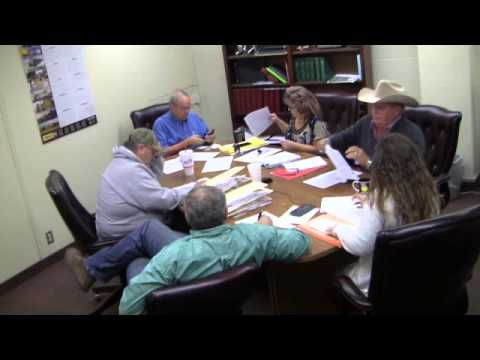 Woods County Commissioners Meeting