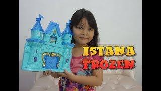 Mainan Istana Frozen - Unboxing