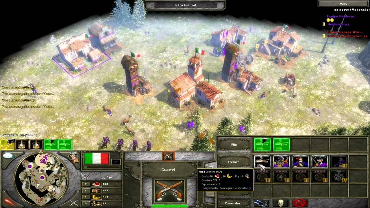Age Of Empires Iii Mod Napoleonic Era Italians Test Hd