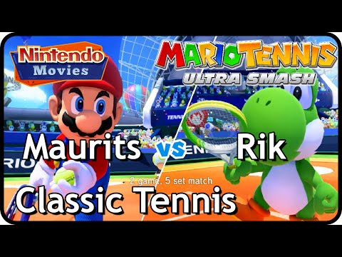Mario Tennis Ultra Smash - Classic Tennis (1 on 1)