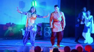 Group Dance with Old Bangla Songs by ANKUR, BAU
