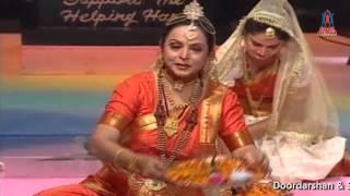 "Sindhu Mahima.... Dance Ballot by Anila Sunder at - ""Sahyog Sahyadri Sindhu Awards Nite ~2005""."